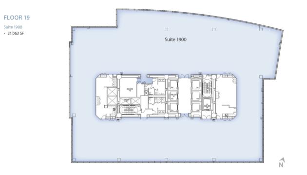 ビルの平面図03