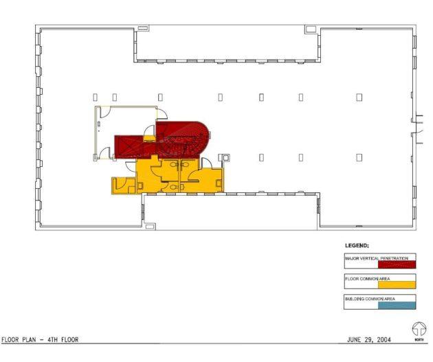 ビルの平面図01